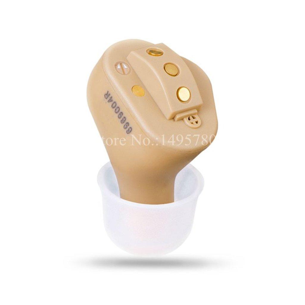 Внутриушные аппараты: Цифровой внутриушной слуховой аппарат ASТ в Мир слуха