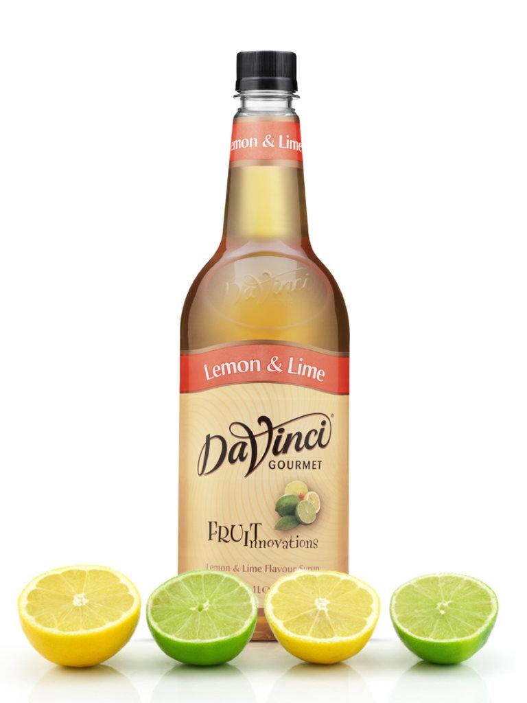 Топпинги, сиропы: Сироп DaVinchi лимон и лайм, 1л в ТортExpress
