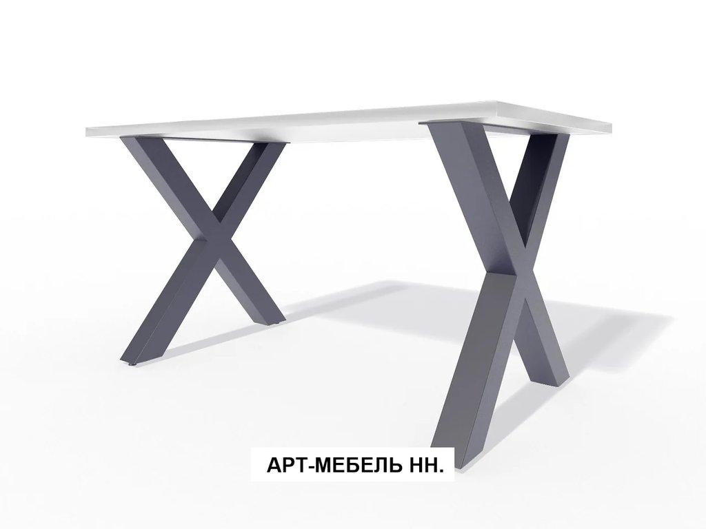 Подстолья для столов.: Подстолье 0.22 (чёрный) в АРТ-МЕБЕЛЬ НН
