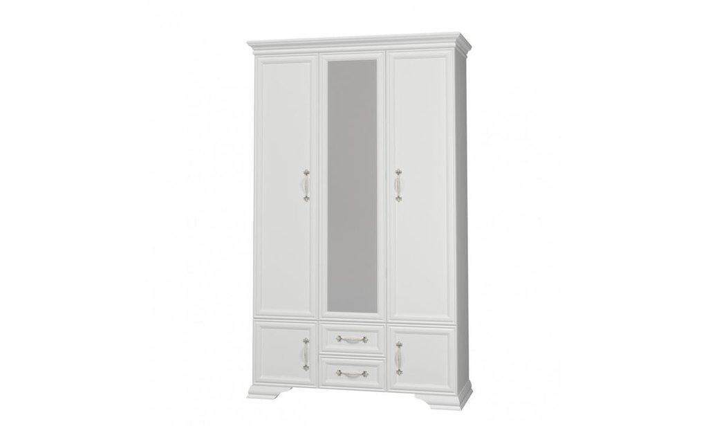 Спальный гарнитур Грация (лак): Шкаф ШР-3 Грация (лак), одежда и бельё, 1 зеркало в Уютный дом