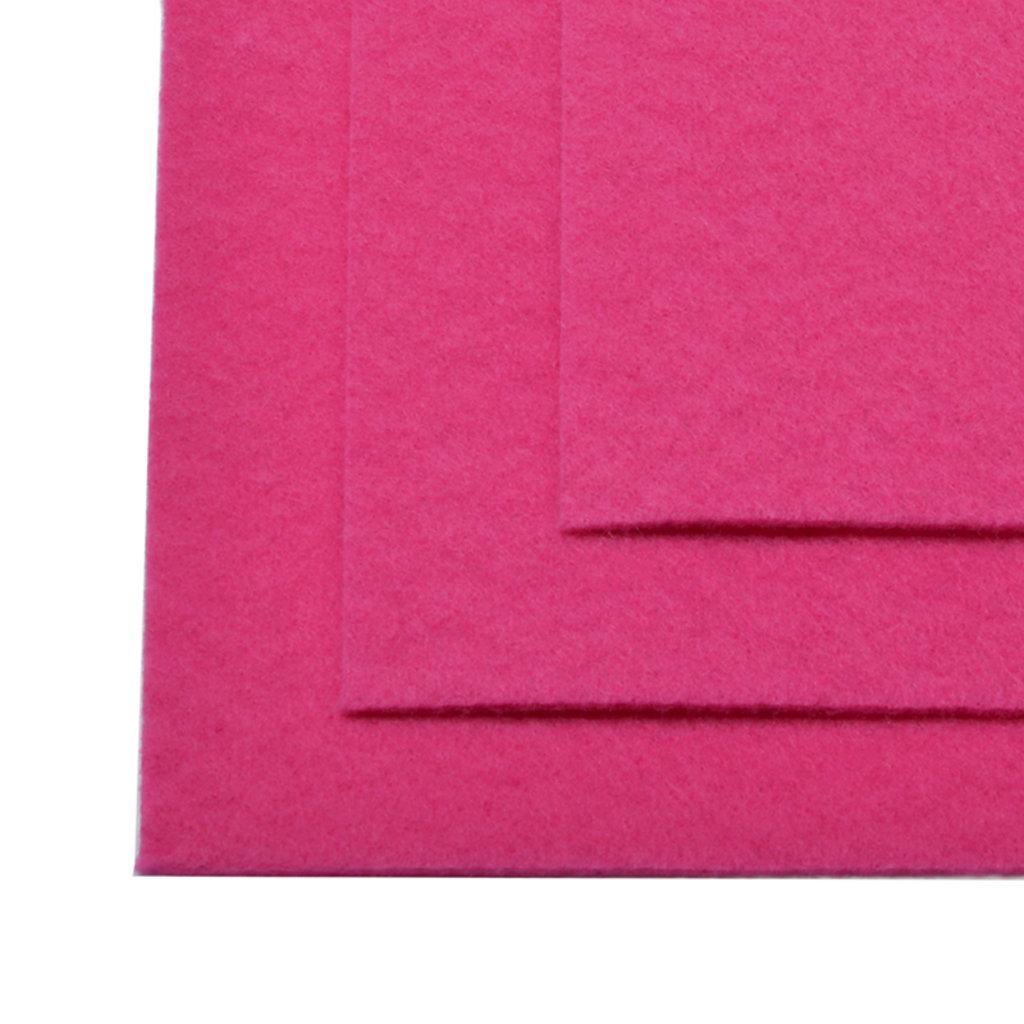 Фетр: IDEAL Фетр жёсткий 1мм 20*30см ярко-розовый 1лист в Шедевр, художественный салон