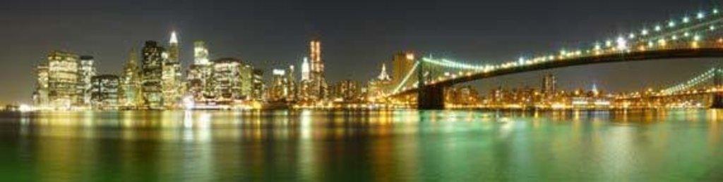 Фартуки ЛакКом 4 мм.: Нью-Йорк в Ателье мебели Формат