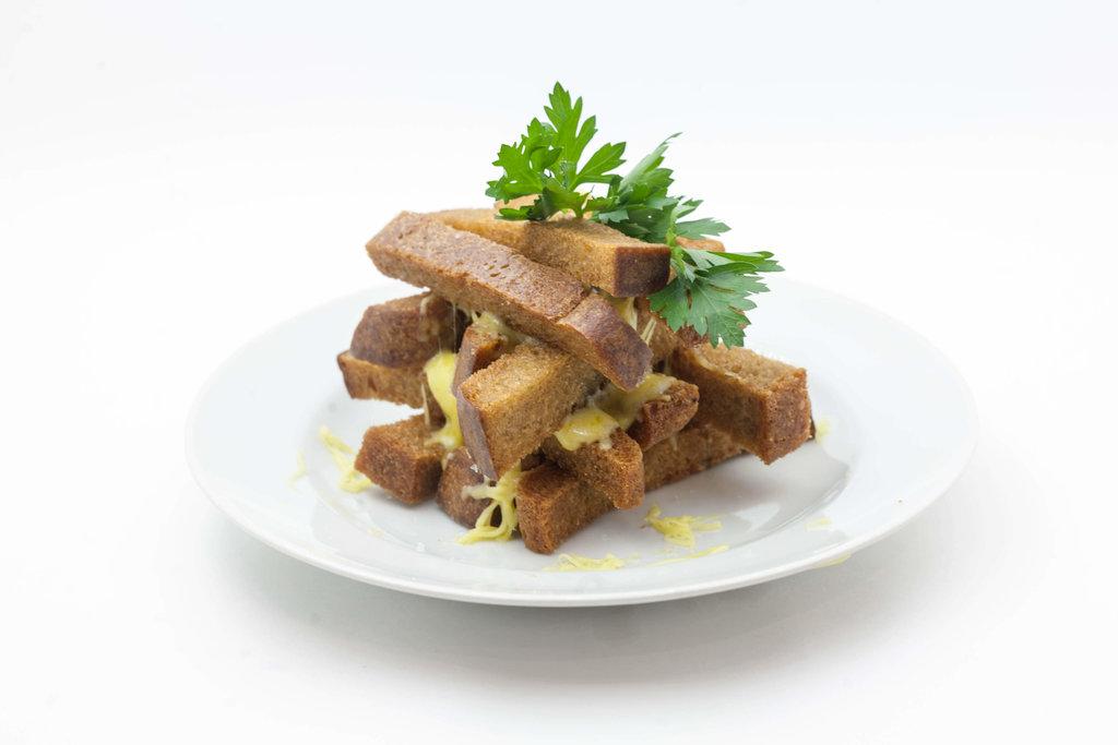 Горячие закуски: Гренки с сыром в Tokio