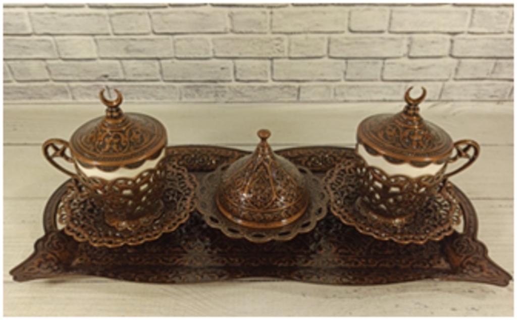 Казаны. Узбекская и турецкая посуда: Сервиз №270 на 2 персоны в Сельский магазин