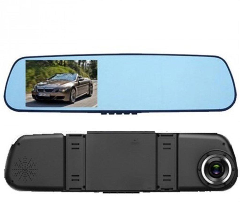 """Видеорегистраторы автомобильные: Зеркало-видеорегистратор DVR-REAR Mirror 4,3"""" в Безопасность"""