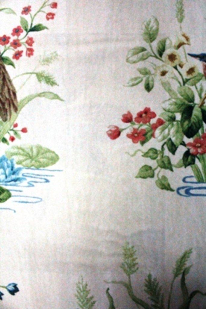 Портьерные ткани: Waterbirds velvet в Салон штор, Виссон