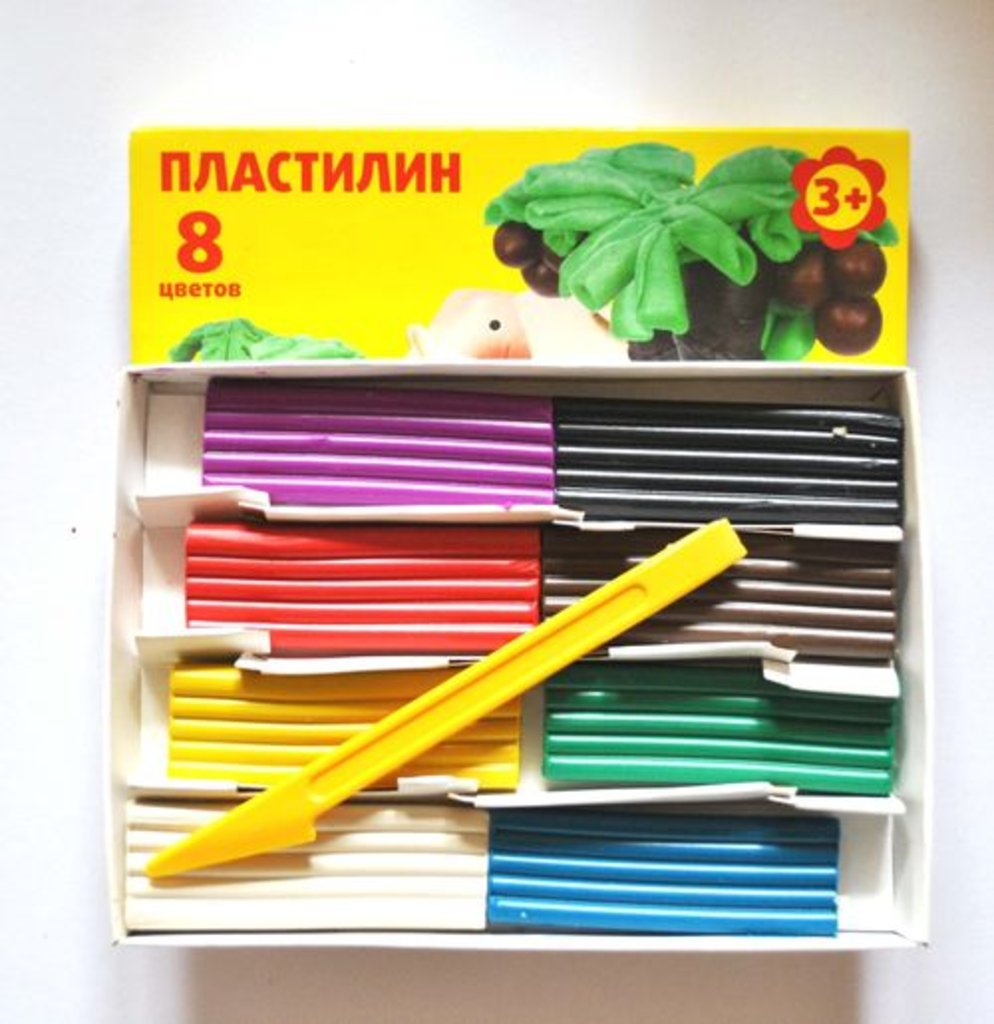 "Пластилин: Пластилин  ""Каляка- Маляка"" 8цветов в Шедевр, художественный салон"