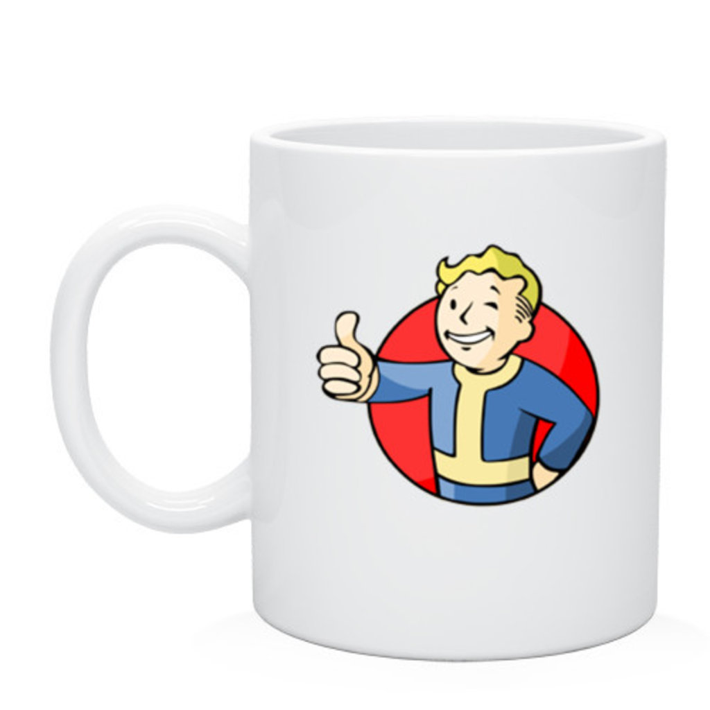 """Выбери готовый дизайн для любой кружки-заготовки: Кружка """"Fallout"""" в NeoPlastic"""