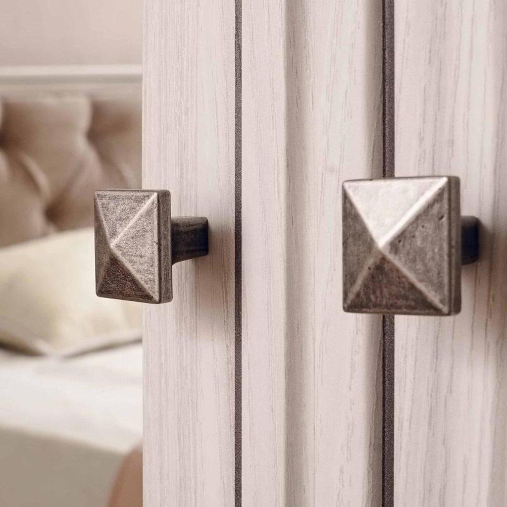 Шкафы для одежды и белья: Шкаф для одежды PAOLA 54 патина (Стандарт+Стандарт) в Стильная мебель