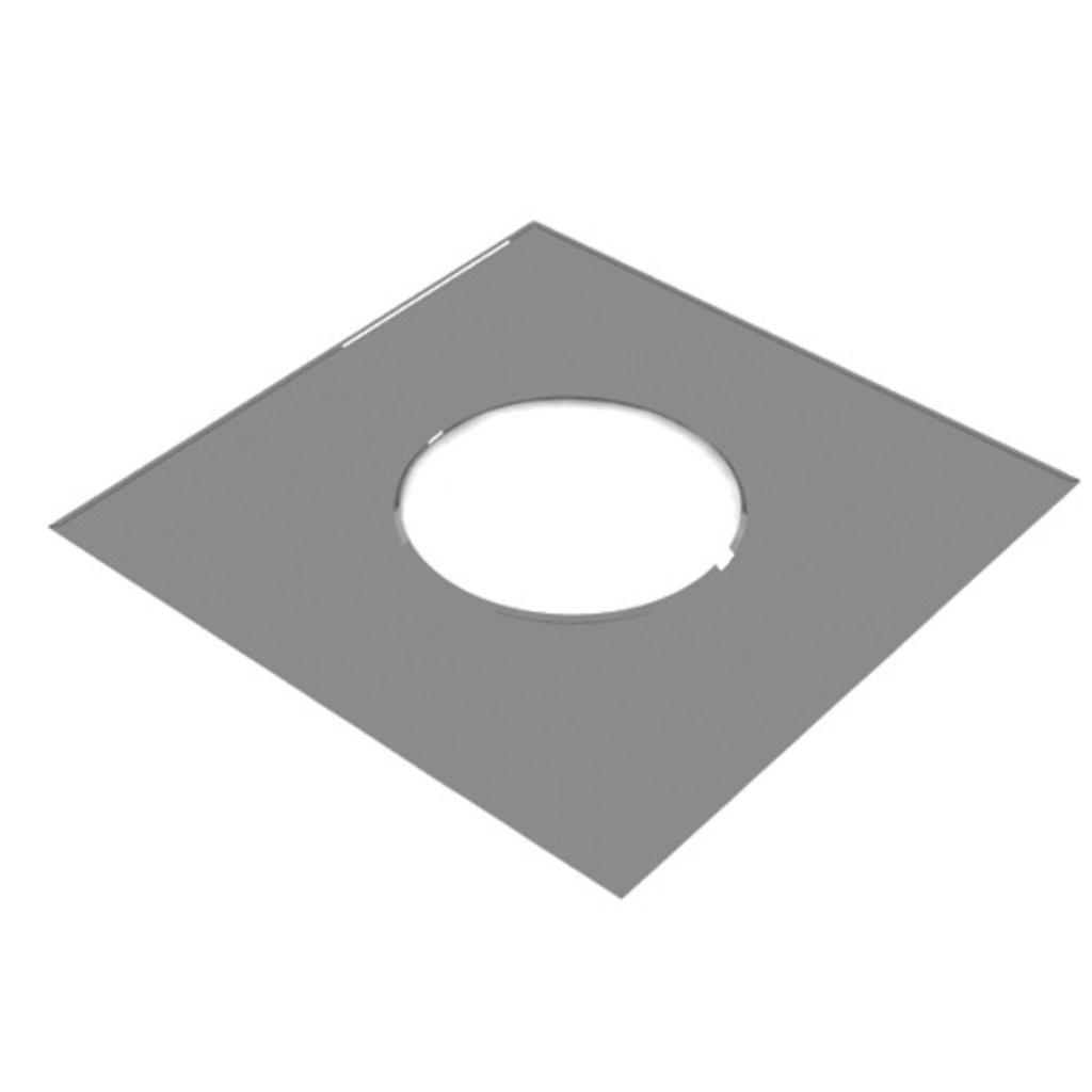 """Дымоходы """"Пик"""": Фланец декоративный 500*500 в Антиль"""