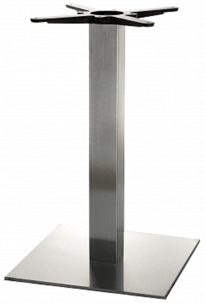 Подстолье, опоры: Подстолье 1202EM (нержавеющая сталь матовое) в АРТ-МЕБЕЛЬ НН