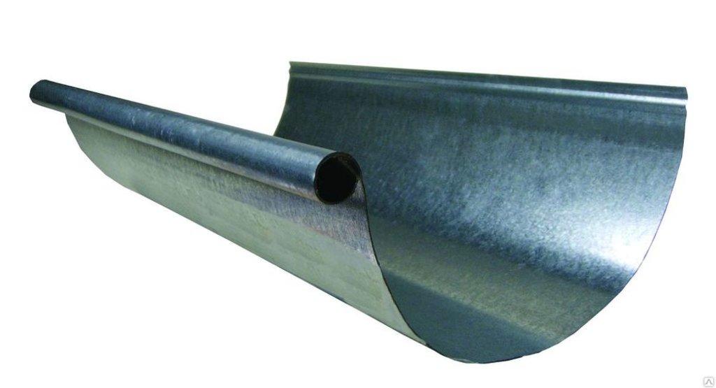 Система водостока: Желоб из оцинкованной стали в Теплолюкс-К, инженерная компания