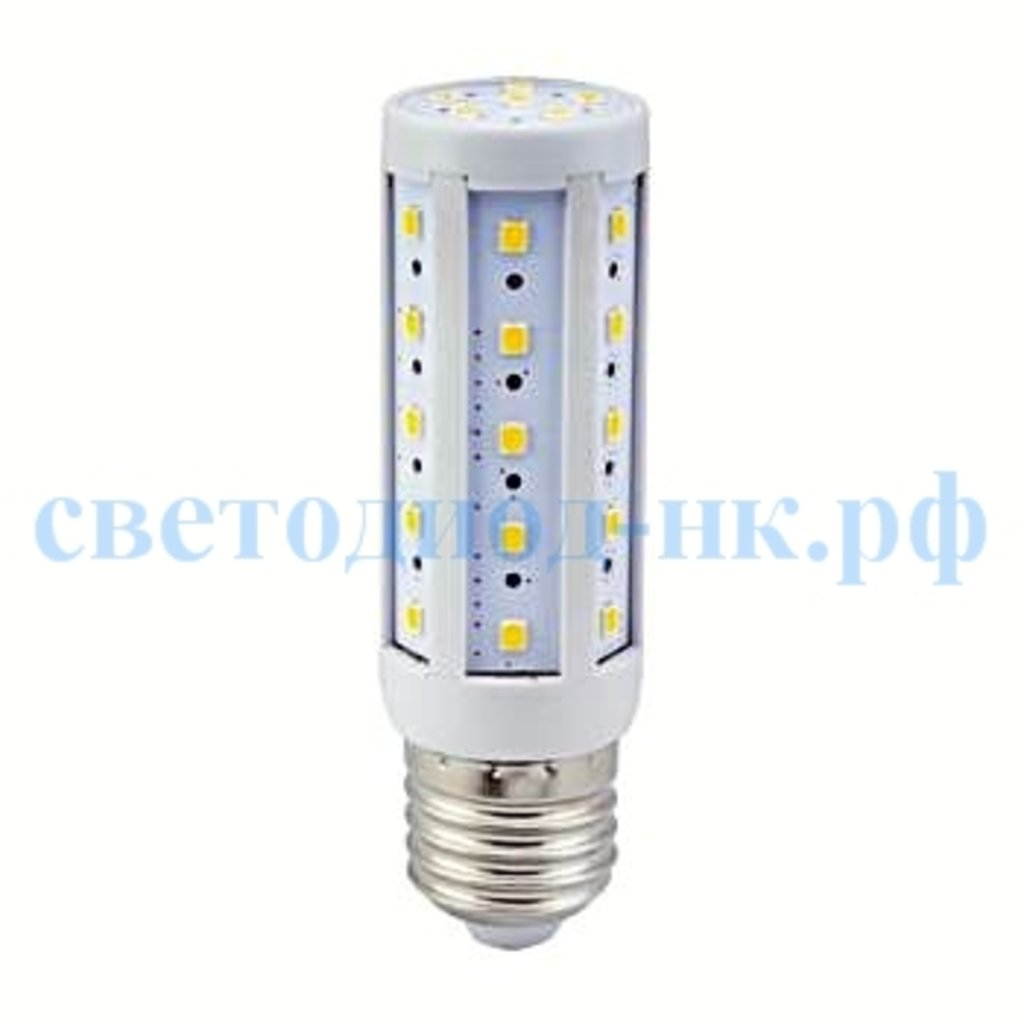 Цоколь Е27: Светодиодная лампа Ecola Corn LED Premium  9,5W 220V E27 2700K кукуруза 105x30   [Z7NW95ELC.] в СВЕТОВОД