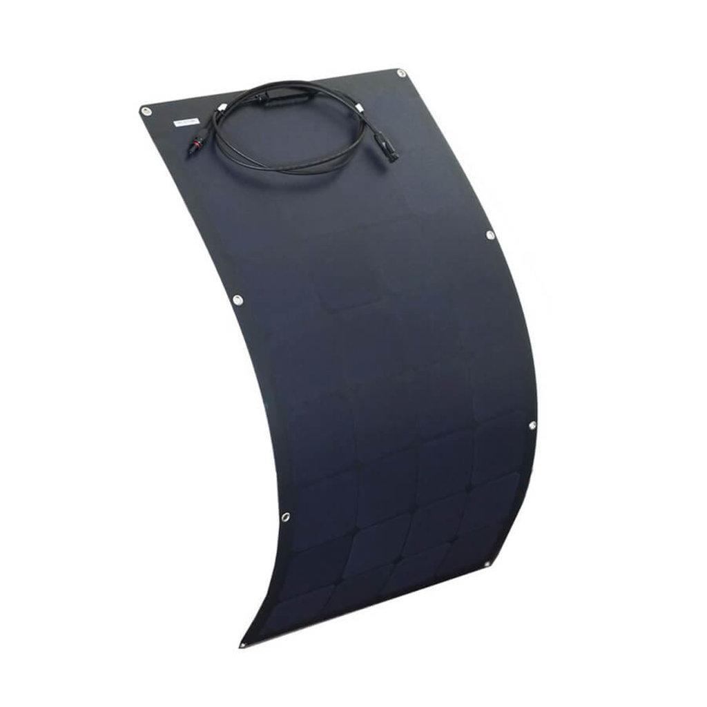 Гибкие солнечные панели: Гибкая солнечная батарея E-Power 100Вт ( черная ) в Горизонт
