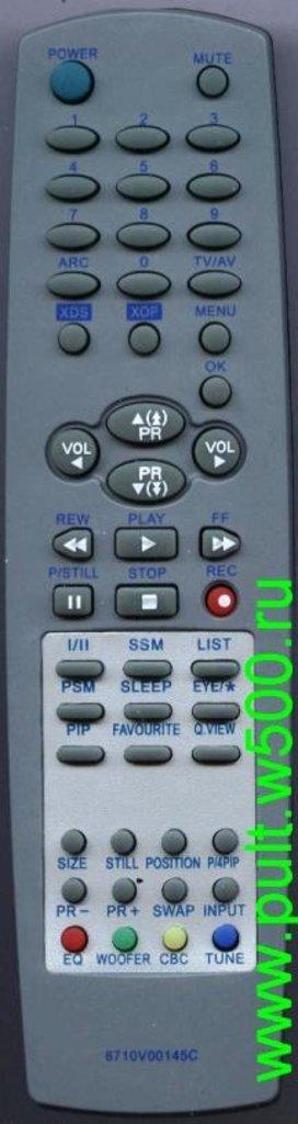LG: Пульт LG 6710V00145C(TV.TXT)как ориг в A-Центр Пульты ДУ