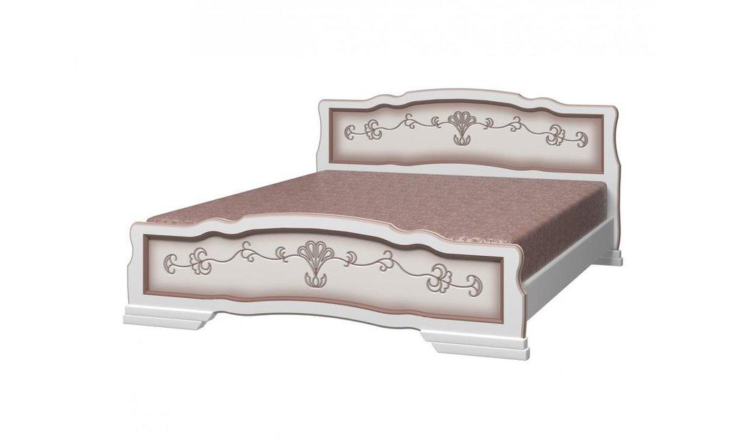 Кровати: Кровать Карина-6 (массив) в Уютный дом