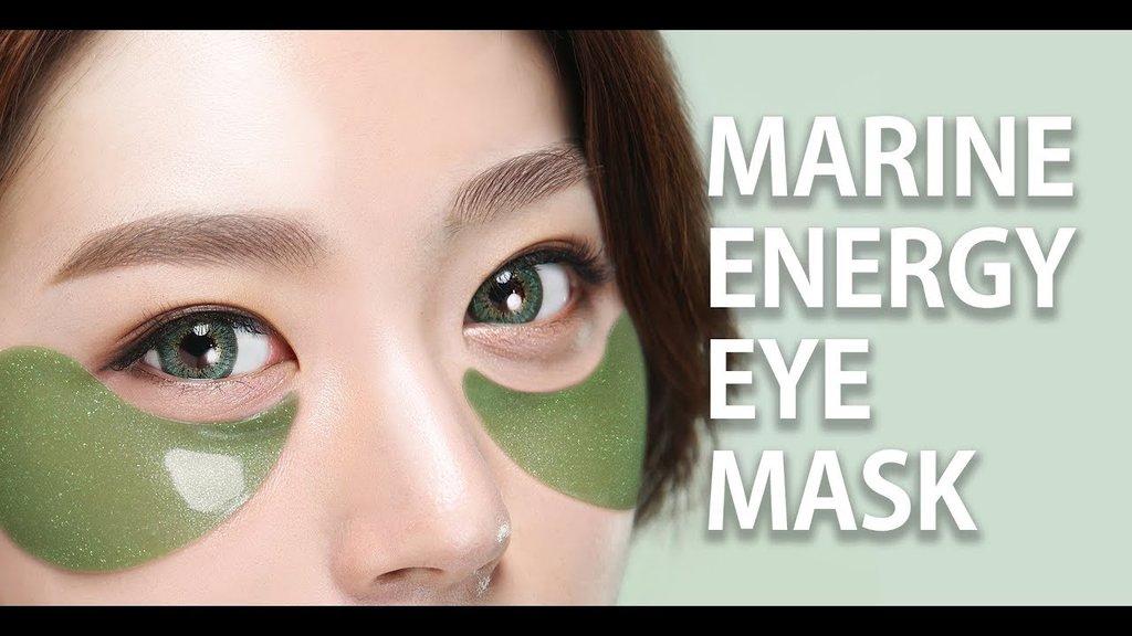 Патчи: Гидрогелевые патчи для глазe SHANGPREE  MARINE ENERGY EYE MASK  60 шт в Мой флакон