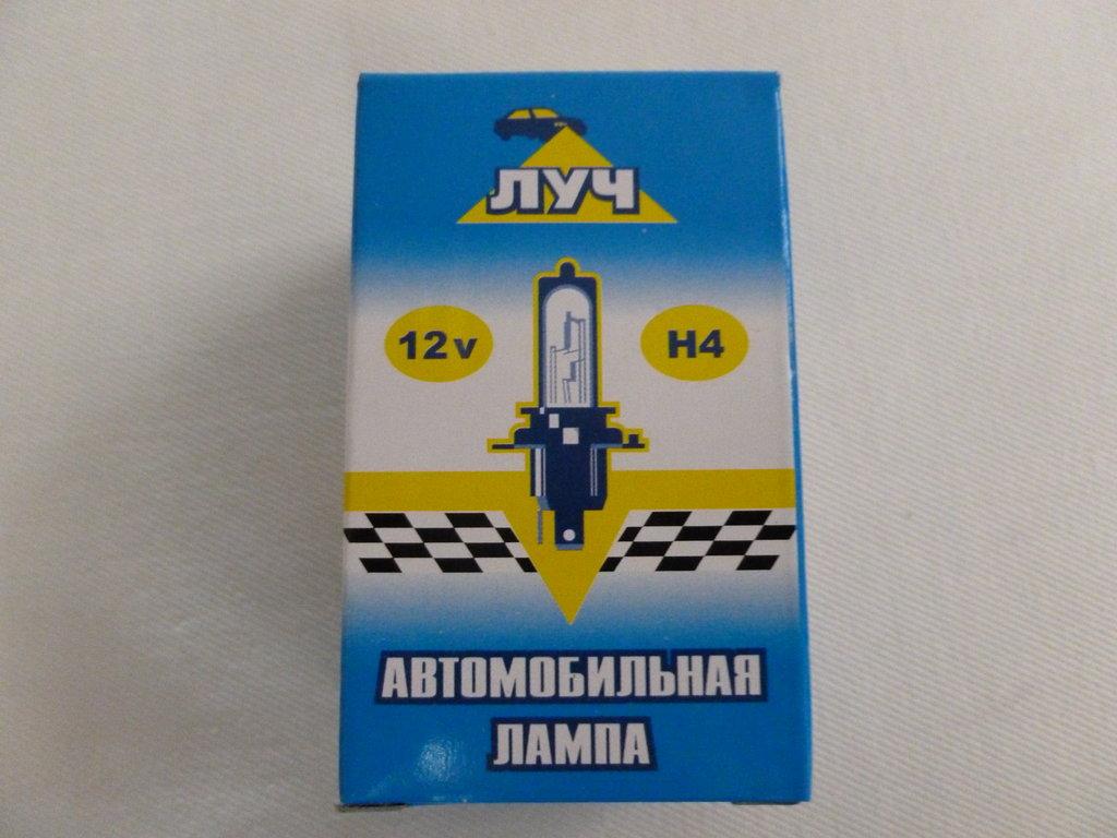 Лампочки для световых приборов автомобиля: автолампа Н4 12V 100/90W Луч в Автоцентр