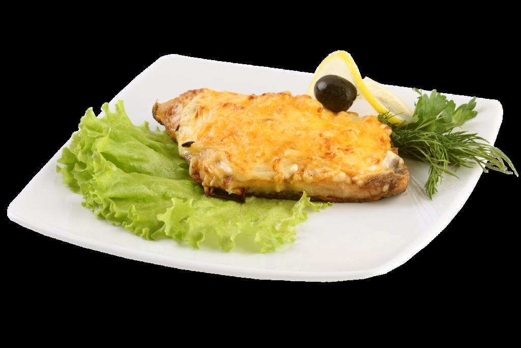 Банкетное меню: Кета запеченная под сырным соусом 120гр в Смак-нк.рф