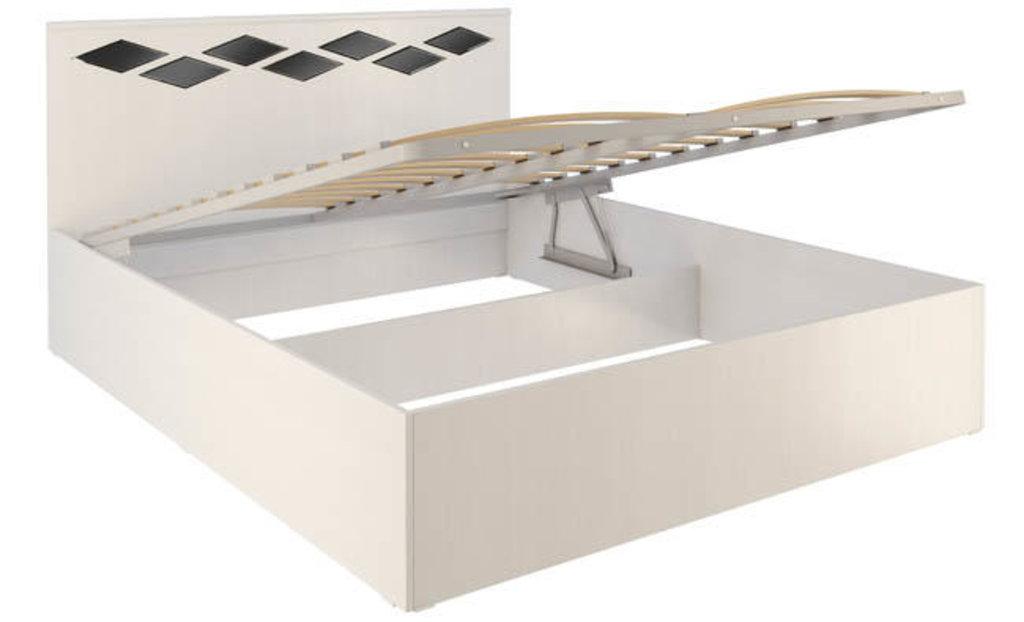 Кровати: Кровать Диана 2.1 (1600, мех. подъема) в Стильная мебель