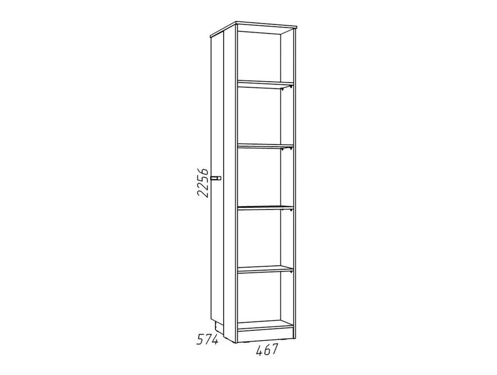 Детские шкафы и стеллажи: Стеллаж НМ 013.93-02 Фанк в Стильная мебель