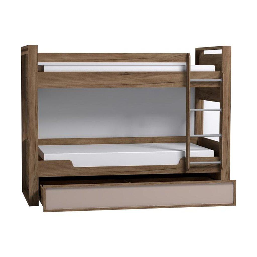 Детские и подростковые кровати: Кровать двухъярусная Nature 90 в Стильная мебель