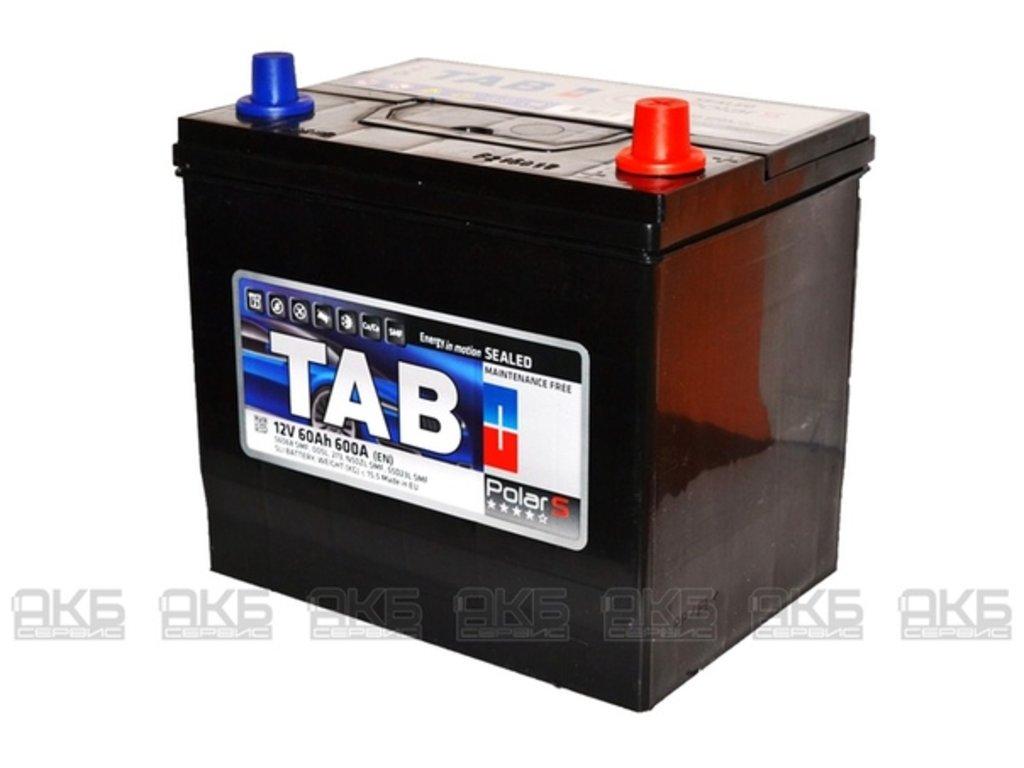 TAB: TAB POLAR Asia 6СТ- 60 в БазаАКБ