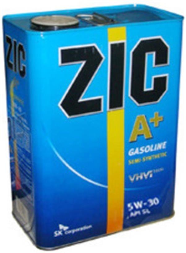 Масла для авто, мото и другой техники: ZIC  A Plus  5W30  SN/CF  4Lx4  ( масло моторное) в Автоснаб, ООО