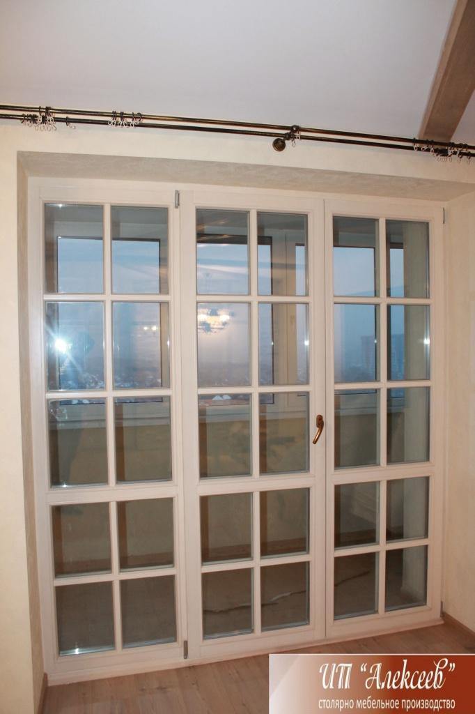 Окна: Деревянные окна  в ИП Алексеев, столярный цех