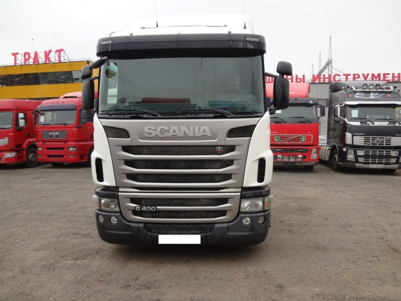 Тягачи: Седельный тягач Scania g 400 (2011 г. в.) скания в Авто-Рай, ООО