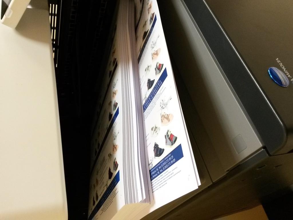 Цифровая печать: Полноцветная печать формата А3 в Готовые Решения, ООО