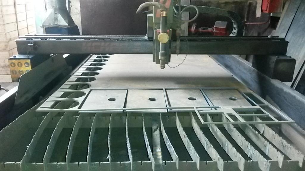 Фрезерная резка и раскрой листовых материалов: Плазменная резка металла в МЕХЦЕХ