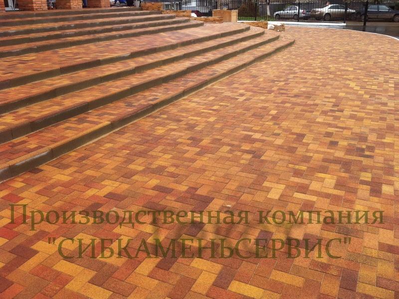 Брусчатка и тротуарная плитка: Тротуарная плитка в СИБКАМЕНЬ