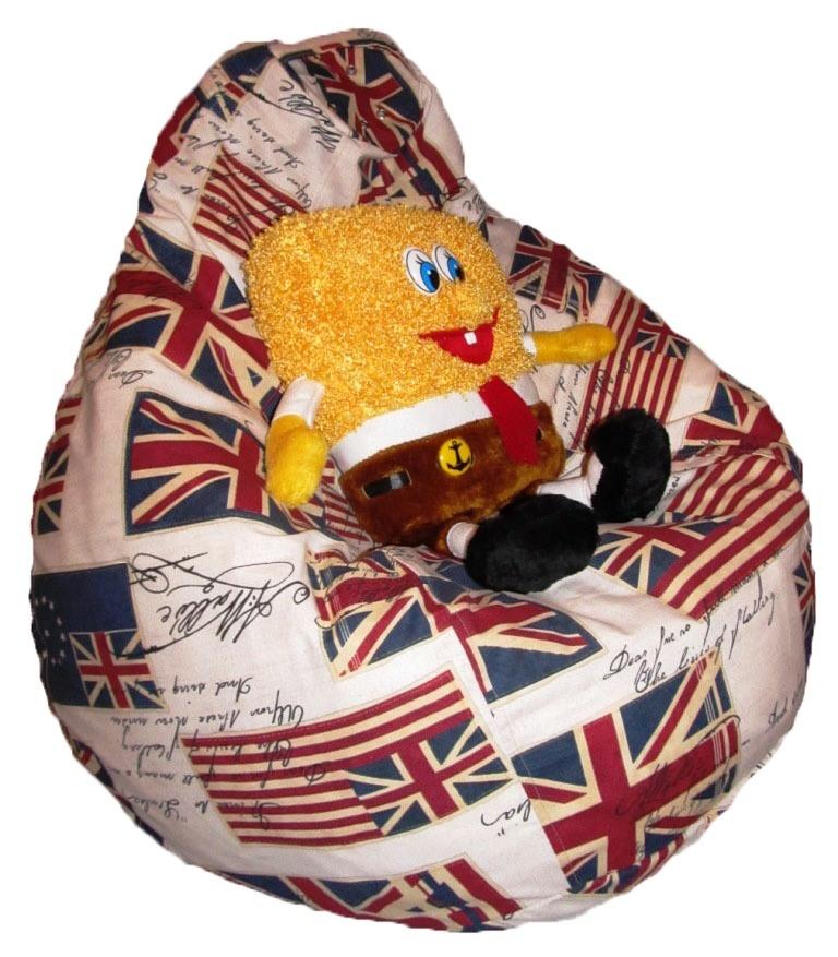 Мягкие кресла и шезлонги для дома: Кресло груша Флаг в Боб Кресло