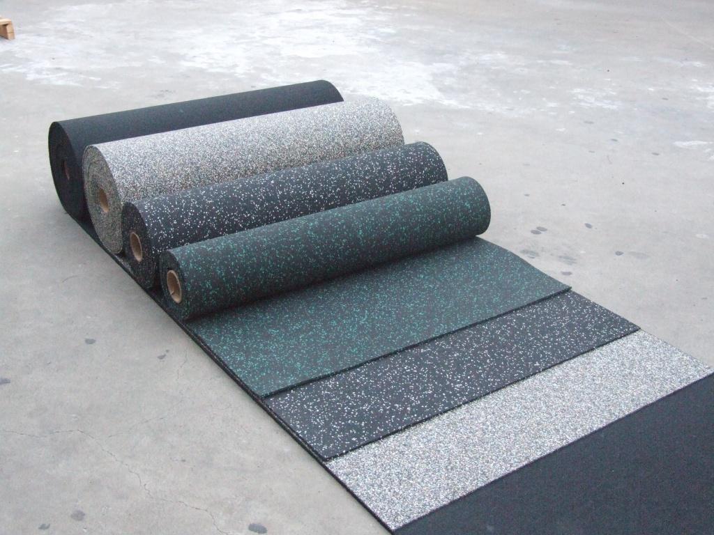 Резиновые покрытия: Резиновое рулонное покрытие EcoStep Fitness 15 в От А до Я