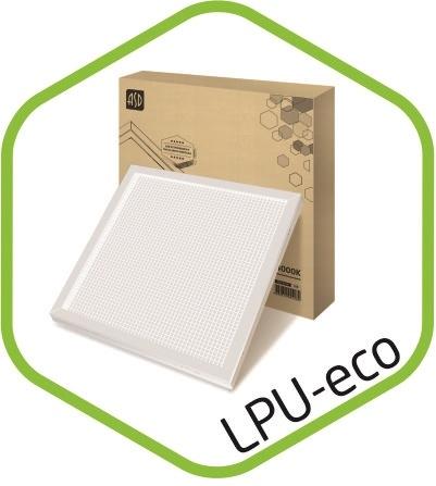Промышленное освещение: Панель светодиодная LPU-eco ПРИЗМА 36Вт 160-260В 4000К 3000Лм 595х595х25мм ASD в ТехЭнергоКомплект, ООО