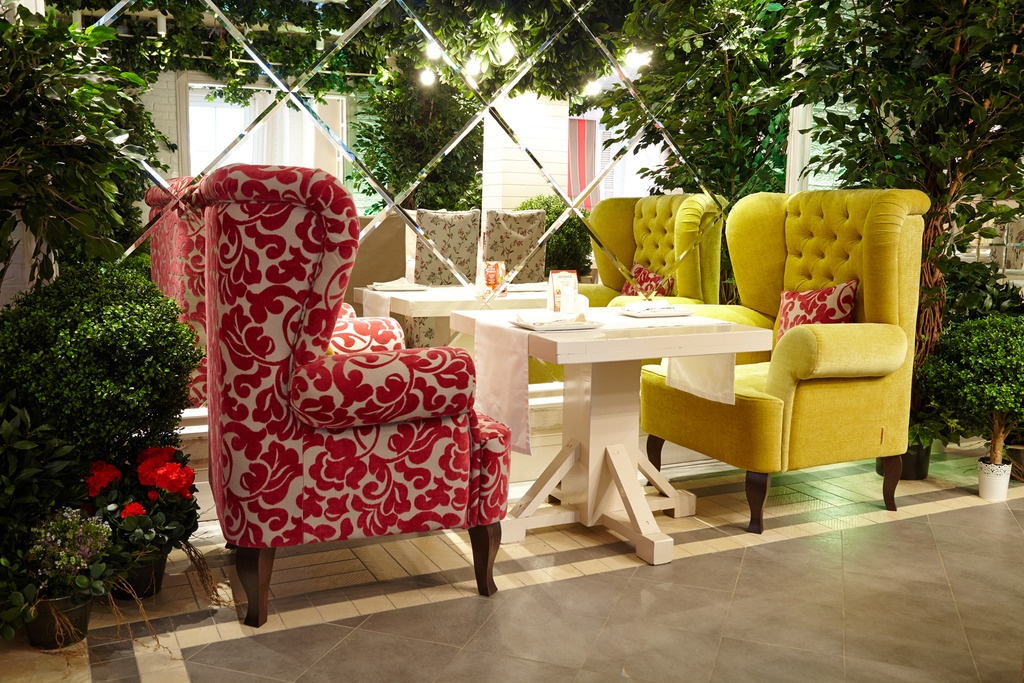"""Мягкая мебель для ресторанов и кафе: Кресло """"Сильверадо"""" в Diwonder"""