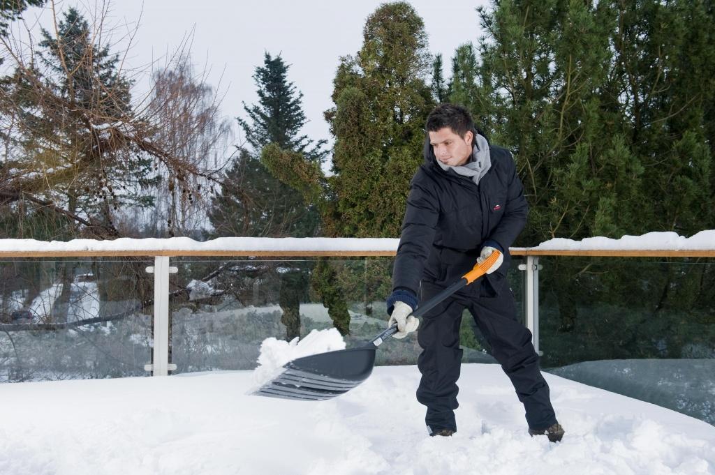 Ручной инструмент, общее: Лопата для уборки снега FISKARS 142610 в Альфа-Синтез, ООО