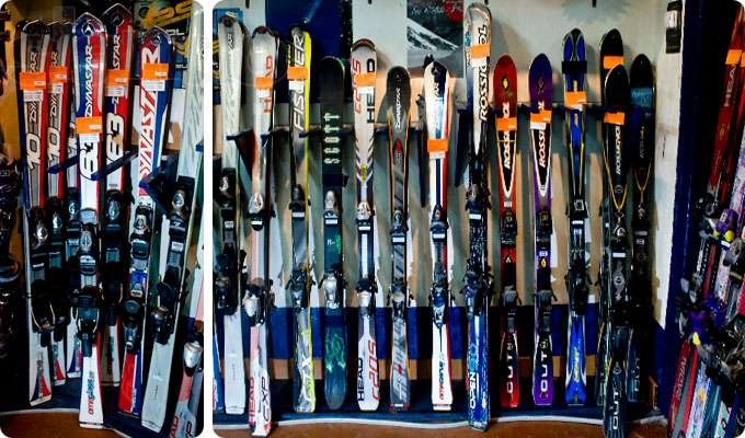 Спортивные товары, общее: прокат сноубордов и горных лыж в Adrenalin