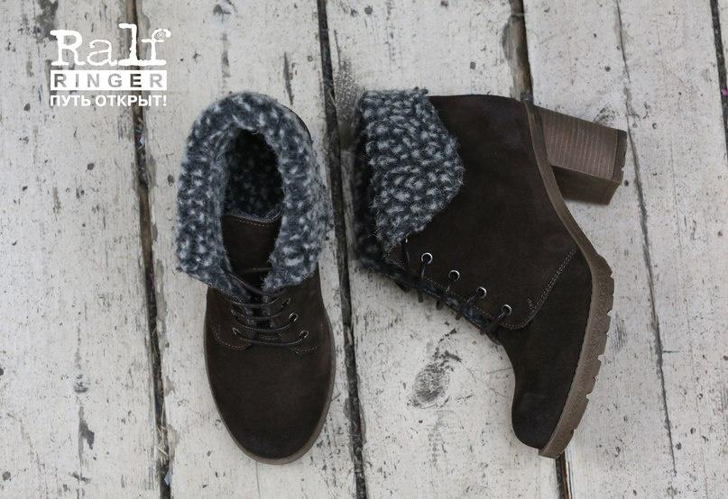 Женская обувь, общее: Зимние ботильоны артикул 958202КВЧ в Ralf Ringer