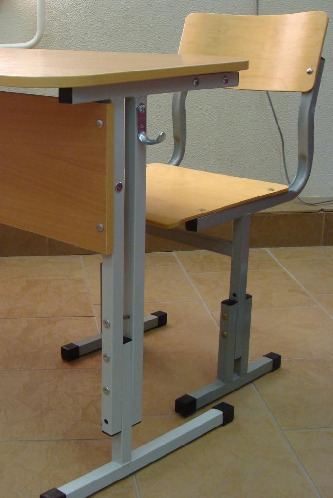 Мебель для учебных заведений и библиотек, общее: Стул ученический, регулируемый по высоте в Меркурий