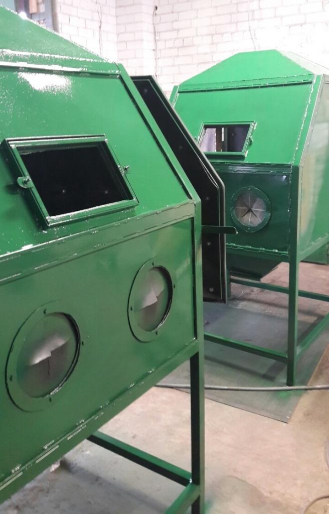 Пескоструйные камеры, аппараты, сопутствующее оборудование от производителя в Электросила