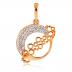 Ювелирные изделия: Золотые подвески в Алмаз, ювелирная мастерская, ООО
