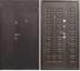 Двери Сопрано: Нестандарт Йошкар Венге 1200*2050 в Модуль Плюс