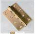 Петли Морелли: Петля Морелли стальная универсальная 100х75х2.5 4ВВ золото в Двери в Тюмени, межкомнатные двери, входные двери