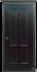 Двери Белоруссии  шпонированые: Прага (чёрная патина) в STEKLOMASTER