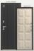 Двери Центурион: Центурион T-4 Антик Серебро\Седой дуб в Модуль Плюс