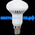 Цоколь Е14: Ecola Reflector R50   LED Premium  8,0W 220V E14 4200K (ребристый алюм. радиатор) 85x50  [G4AV80ELC] в СВЕТОВОД