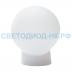 Светильники ЖКХ: Светильник НББ 64-60-025 УХЛ4 (шар пластик прямое основание) в СВЕТОВОД