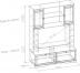 Шкафы, общие: Шкаф МЦН БРИЗ 1 в Стильная мебель